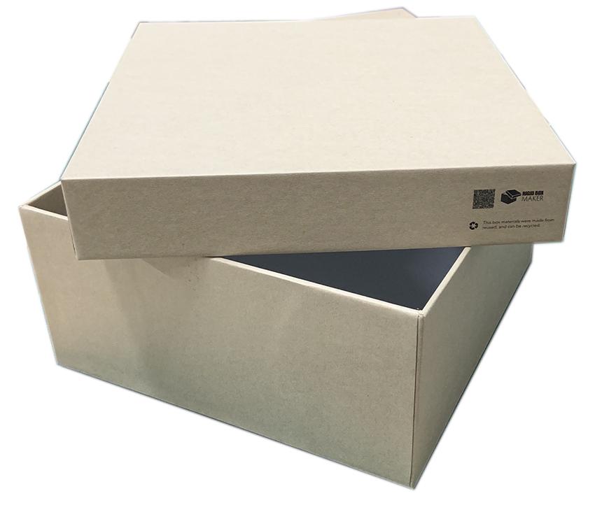 finishing rigid box
